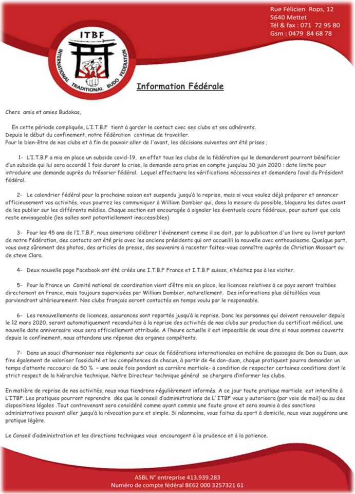 Information fédéral