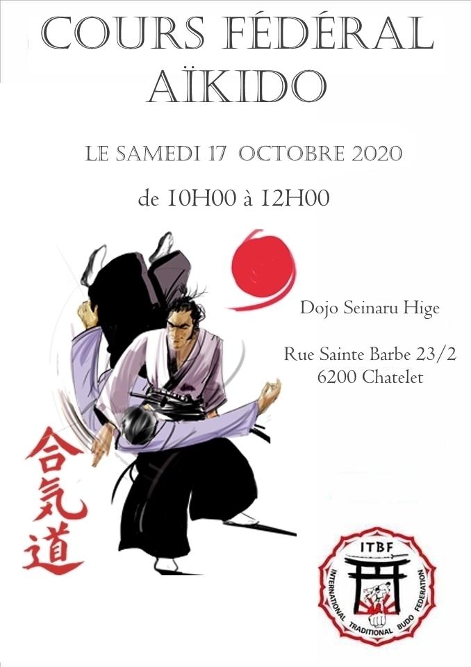Cours Fédéral Aïkido